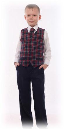 Жилет для мальчика - артикул М-403-20